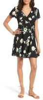Lush Women's Olivia Wrap Dress