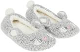 Monsoon Belinda Bunny Ballerina Slippers