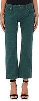 Maison Mayle Women's Four-Pocket Ankle Jeans-BLUE