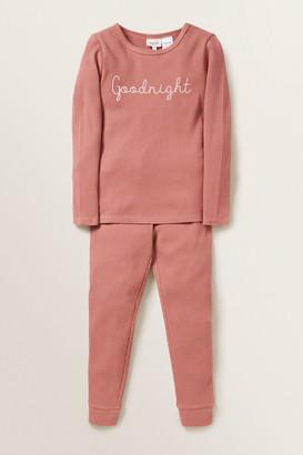 Seed Heritage Goodnight Waffle Pyjama