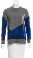 Thakoon Plaid Crew Neck Sweater w/ Tags
