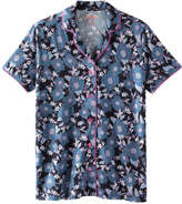 Joe Fresh Women's Print Piped Sleep Shirt, Print 1 (Size S)