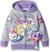 My Little Pony Freeze Kids girls Pocket Frenz Toddler Girls Hooded Sweatshirt