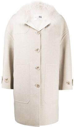 Manzoni 24 Oversized Single-Breasted Coat