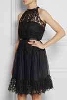 Temperley London Lily lace and organza dress