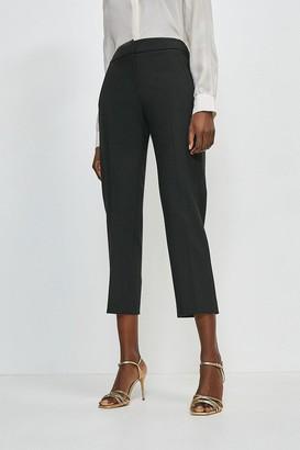 Karen Millen Compact Stretch Tailored Trousers