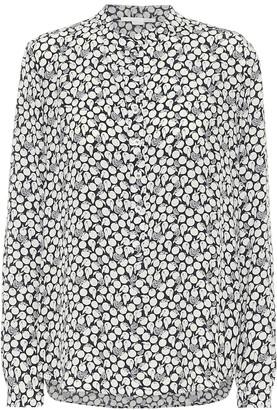 Stella McCartney Eva printed silk-crepe blouse