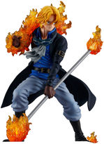 Asstd National Brand One Piece Three Brothers of Flame Attack Styling, Sabo