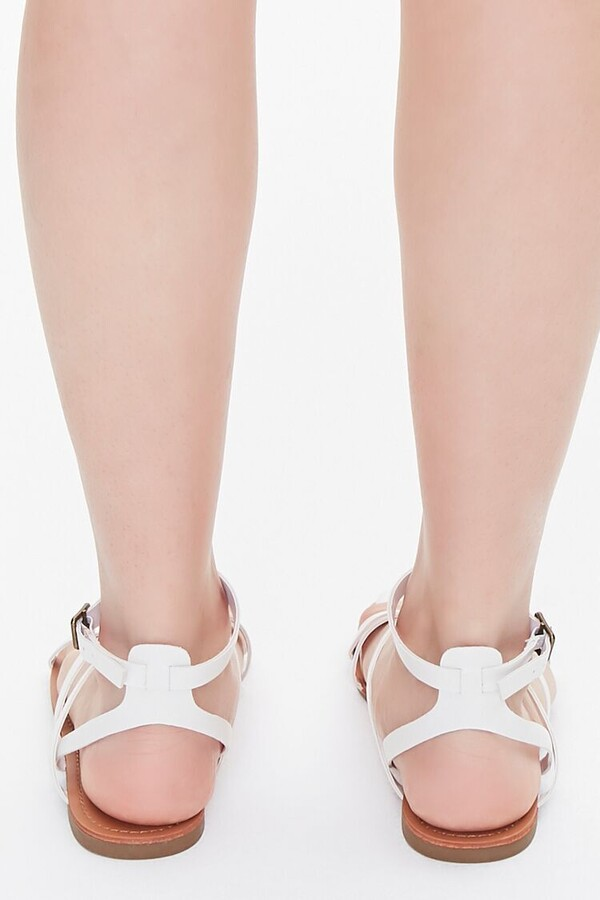Thumbnail for your product : Forever 21 Faux Leather Crisscross Sandals