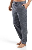 Hanro Night & Day Woven Lounge Pants, Green