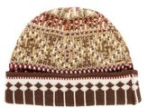 Bally Pattern Knit Beanie