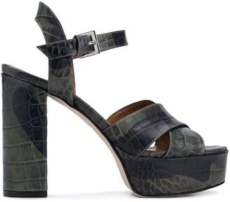 Paris Texas 125mm Platform Sandals