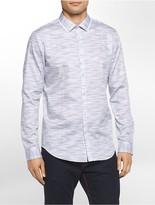 Calvin Klein Slim Fit Space Dyed Shirt