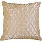 Crystallize Morocco Silk Throw Pillow Sivaana