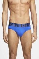 Calvin Klein Men's 'Intense Power' Microfiber Hip Briefs
