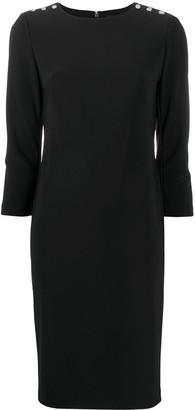 Lauren Ralph Lauren Cropped Sleeve Dress