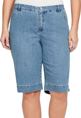 Bandolino Women's Plus Size Ivette Polish Berumda Short