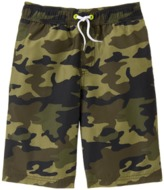 Crazy 8 Camo Swim Trunks
