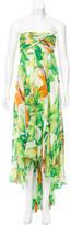 Diane von Furstenberg Printed High-Low Dress