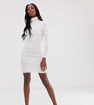 Brave Soul Tall juliet high neck jumper dress