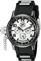 Invicta Women's 1820-DD Russian Diver Analog Display Japanese Quartz Black Watch