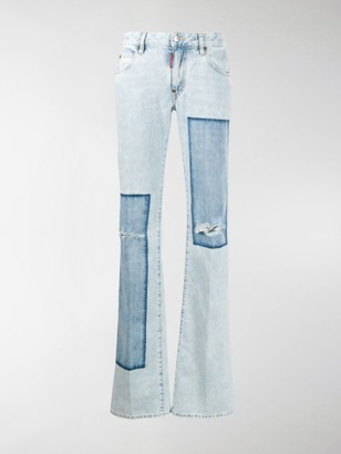 DSQUARED2 Patchwork Flares