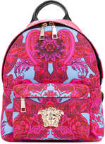 Versace Barocco print backpack