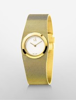 Calvin Klein Impulsive Gold Mesh Watch