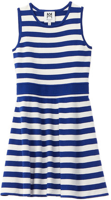 Milly Striped Fit & Flare Dress