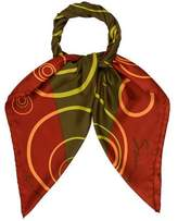 Givenchy Multicolor Printed Scarf