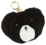 MICHAEL Michael Kors Teddy Bear Pom Pom Fur Key Chain
