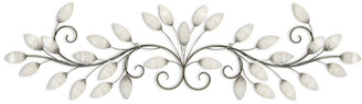 Stratton Home Decor Brushed Pearl Over The Door Wall Decor