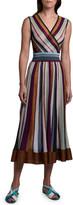 Missoni Metallic Striped Sleeveless Dress