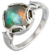 Heather Hawkins Persephone Ring In Labradorite