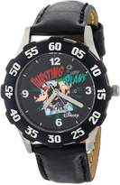 Disney Kids' W000429 Tween Phineas Stainless Steel Bezel Leather Strap Watch