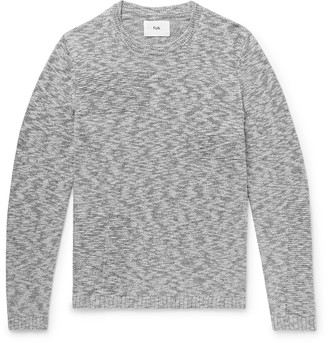 Folk Slim-Fit Melange Cotton Sweater