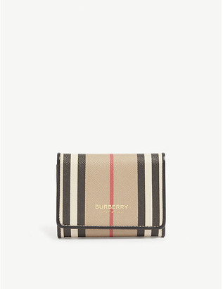 Burberry Sidney trifold e-canvas wallet