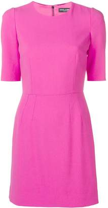 Dolce & Gabbana shortsleeved fitted dress