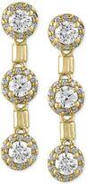 Effy EFFYandreg; Diamond Trio Drop Earrings (1-1/5 ct. t.w.) in 14k Gold