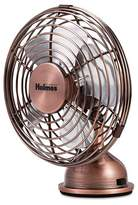 Holmes Metal Desk Fan, USB Connected, Small, Bronze (HNF0466-CT)