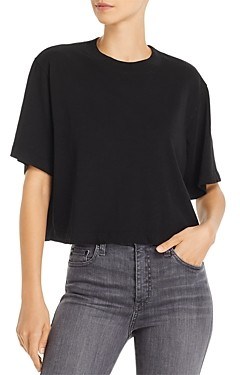 Cotton Citizen Tokyo Short-Sleeve Cropped Tee