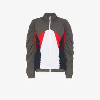 Martine Rose ruched colour block jacket