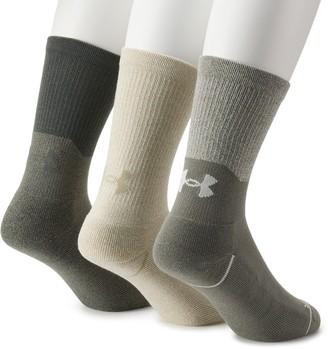 Under Armour Men's 3-pack Performance Training Crew Socks