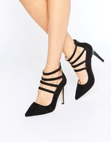 Head Over Heels By Dune Alora Strappy Heeled Shoes