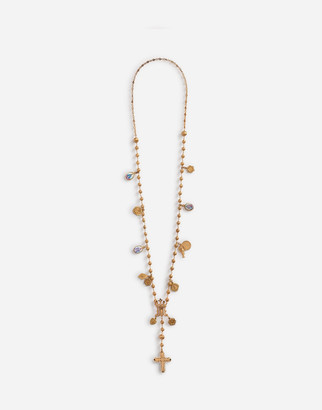 Dolce & Gabbana Long Necklace With Decorative Details