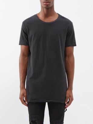 Ksubi Seeing Lines Cotton-jersey T-shirt - Black