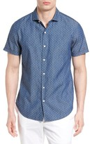 Bonobos Men's Slim Fit Dot Print Sport Shirt