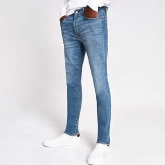 Levi's Mens River Island light Blue 519 extreme skinny jeans