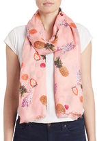 Bindya Fringe Fruit Scarf