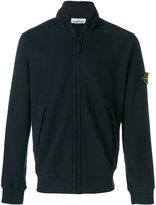 Stone Island zip front sweatshirt - men - Cotton - M